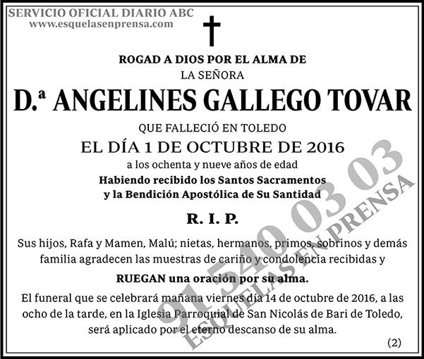 Angelines Gallego Tovar